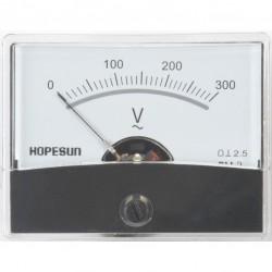 Paneelmeter 300v AC analoog
