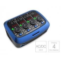 Quatrro micro AC/DC lader 4x1 cell lipo 1A
