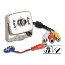 Z/W mini CMOS-cam+audio+IR 92'