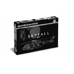 JANES BOND AW-101 SKYFALL incl. 3 fig. 1/72
