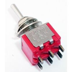 tuimelschakelaar mini 4x om  (1)0(1)  gat-6.5mm