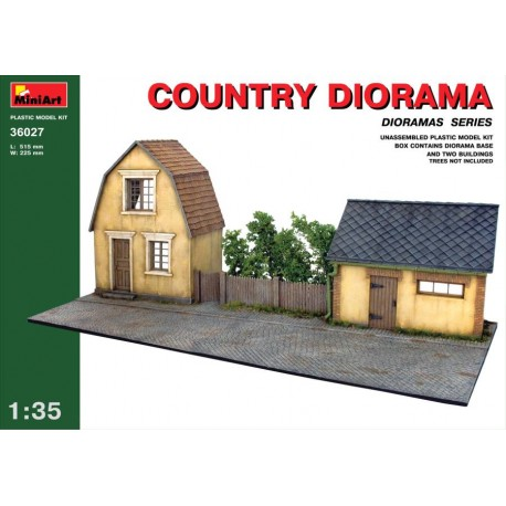 COUNTRY DIORAMA 1/35