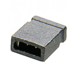 Shunt - laag    vertind 2.54mm zwart