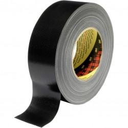 Textieltape 50m zwart