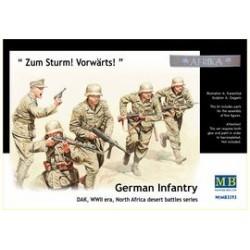 GERMAN INFANTERY DAK WWII 1/35