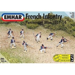 FRENCH INFANTRY 1/72