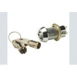 Sleutelschakelaar   aan/uit metaal gat-19mm