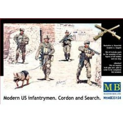 MODERN US INFANTRYMEN. GORDON AND SEARCH 1/35