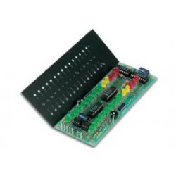 kit 2x15led precisie stereo VU-met