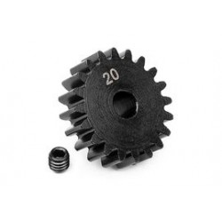 20t pinion M1 5mm shaft