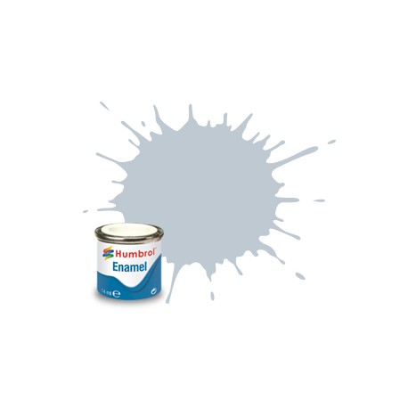 Humbrol Enamel 56 metaal aluminium 14ml. (Revell 99)