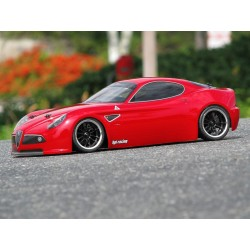 1/10 body Alfa Romeo 8c 200mm