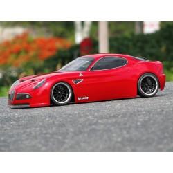 1/10 body Alfa Romeo 8c 200mm