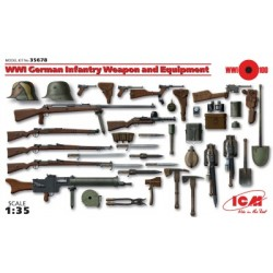 WWI BRITISH INF. WEAPON SET 1/35