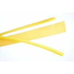 Krimpkous 1/4'' 6,3mm geel