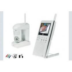 draadl. minicam+mon+PIR alarm!
