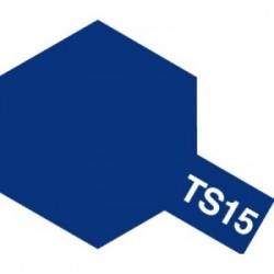 Acryl spuitbus plastics blue TS-15 100ml.