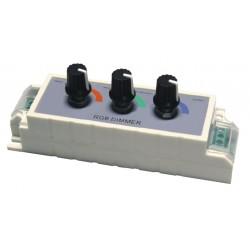 RGB handcontroller 12/24v 3x3A