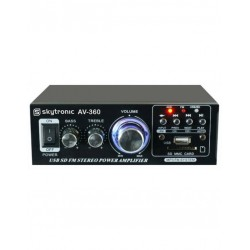 USB/SD12v/220v 2x40W + FM!