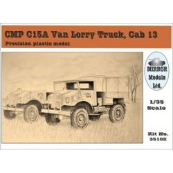 CMP C15A VAN LORRY CAB13 1/35