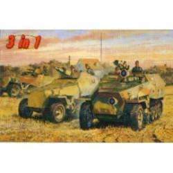 SDKFZ 251/D 3IN1 1/35