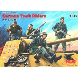 GERMAN TANK RIDERS 1942-45 1/35