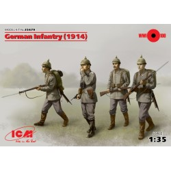 GERMAN INFANTRY 1914 1/35