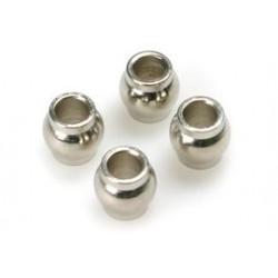 Ball 3x5.8x6mm 4 stuks
