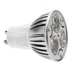 230v led lamp GU10 warmwit 3w