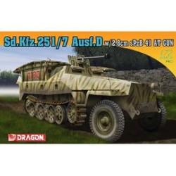 SD KFZ,25I/7 AUSF.D. 1/72