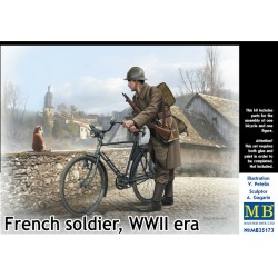 FRENCH SOLDIER WWII 1/35
