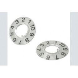 Ritel cijfer-   ring 1-10/10mm