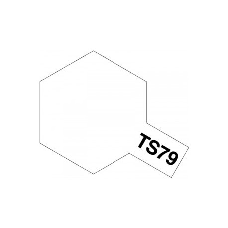 Acryl spuitbus plastics semi gloss clear TS-79 100ml.
