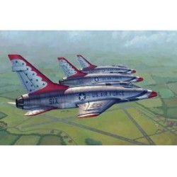 F100D THUNDERBIRDS 1/48