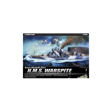 H.M.S. Warspite 1/350