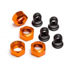SHOCK CAPS TROPHY SERIES 4PCS (ORANGE)