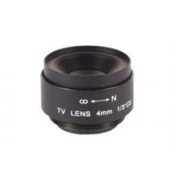 CCTV wide-angle 4mm/f2.0 80'