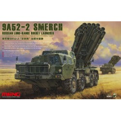 RUSSIAN LONG RANGE ROCKET LAUNCHER 9A52-2 1/35