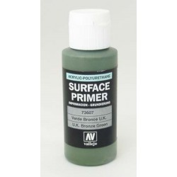 Acrylic surface primer U.K. bronze green 60ml
