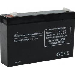 LC loodaccu 6V7A 150x95x34mm