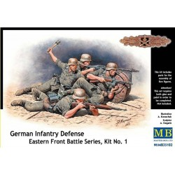 GERMAN INFANTRY DEFENSE KIT nr1 WWII 1/32