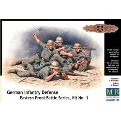 GERMAN INFANTRY DEFENSE KIT nr1 WWII 1/32