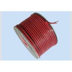 luidsprekersnoer 100% koper 2x0.75 R/Z p/m