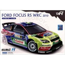 FORD FOCUS RS WRC 2010 1/24