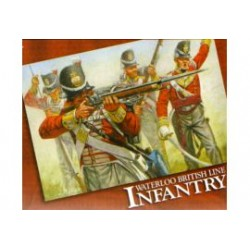 WATERLINE BRITISH INFANTRY1/72