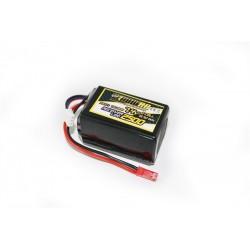 Ontvanger lipo accu 7,4V 2500mAh 60x32x32mm