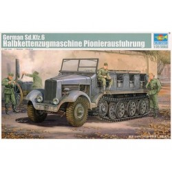GERMAN SD.KFZ.6 HALBKETTENZUGMASCHINE 1/35