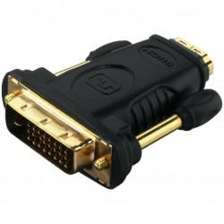 DVI M - HDMI F verloop