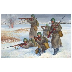 SOVIET WINTER INFANTRY 1/72