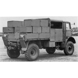 BEDFORD QLB BOFORS GUN TRACTOR 1/35
